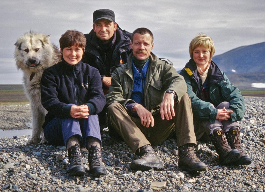 Connexion 2001 ekspeditionsdeltagere